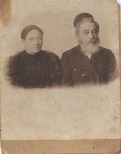 Yehoshua Halperin i Ida Kleszczelska1