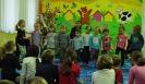 Ania Broda w przedszkolu