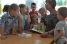 Teresa Filarska czyta dzieciom